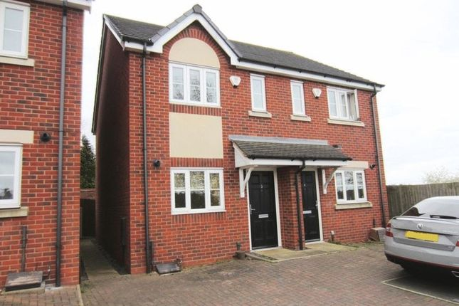 Thumbnail Semi-detached house for sale in Gravity Mews, Bristnall Hall Road, Oldbury