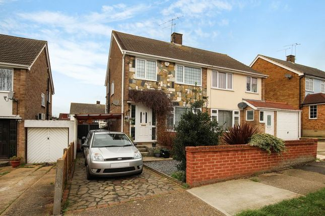Thumbnail Semi-detached house for sale in Roseberry Avenue, Benfleet
