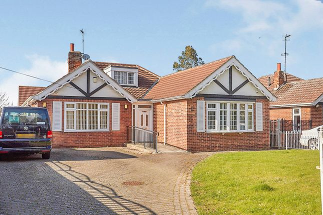 Thumbnail Detached bungalow for sale in Ganstead Lane, Bilton, Hull