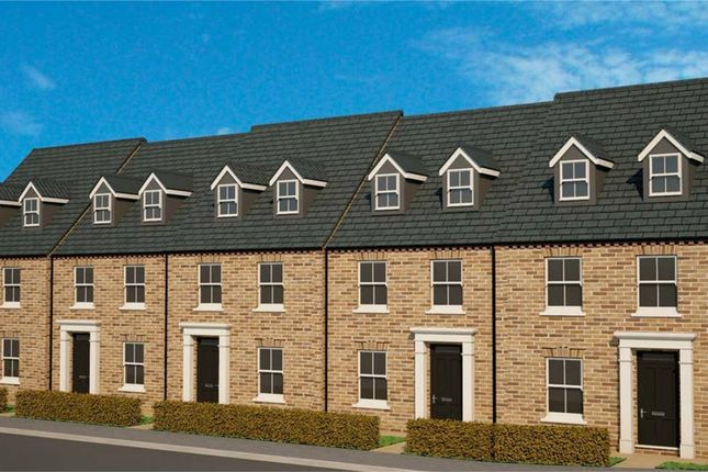 Thumbnail Terraced house for sale in Kettle Drive, Newborough, Peterborough