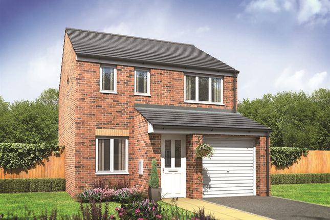 "Thumbnail Semi-detached house for sale in ""The Rufford"" at Pendderi Road, Bynea, Llanelli"