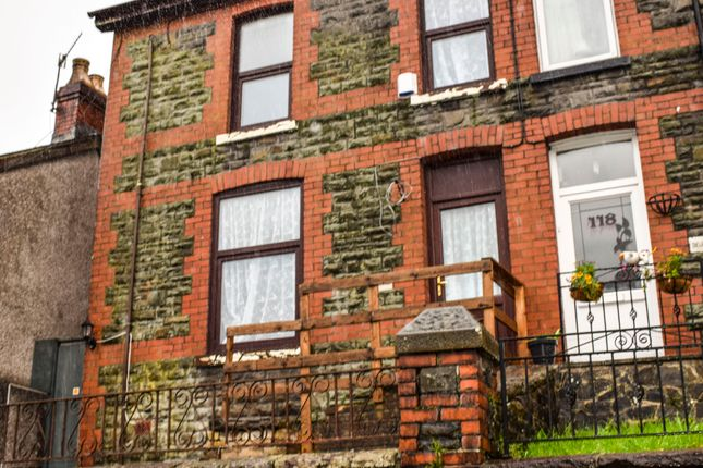 Thumbnail End terrace house to rent in East Road, Tylorstown