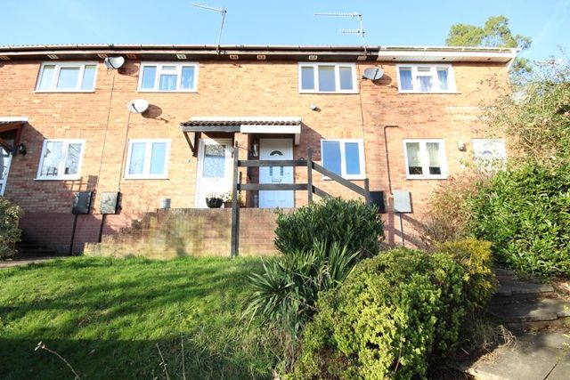 Thumbnail Terraced house to rent in Cheviot Close, Worcester