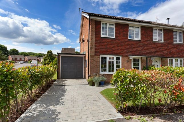 Thumbnail Semi-detached house for sale in The Fieldings, Southwater, Horsham