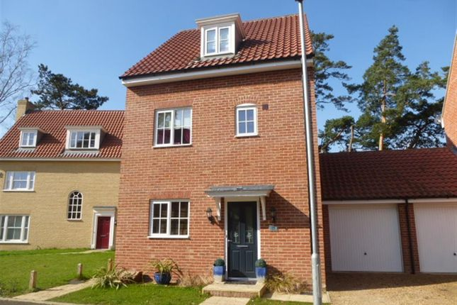 Thumbnail Link-detached house for sale in Hastings Close, Thetford