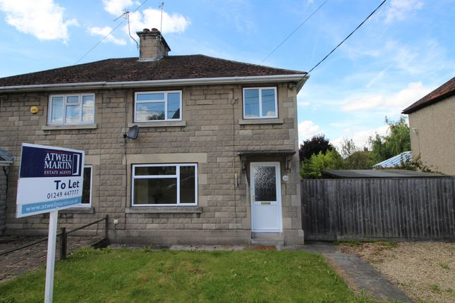 Thumbnail Semi-detached house to rent in Audley Road, Chippenham