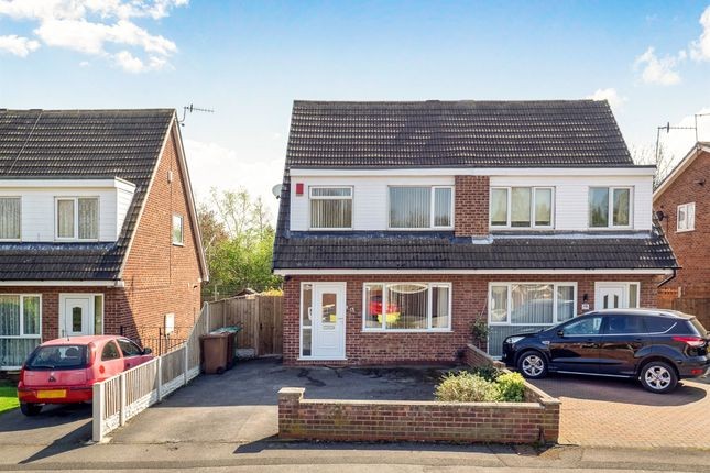 Thumbnail Semi-detached house for sale in Willaston Close, Bulwell, Nottingham
