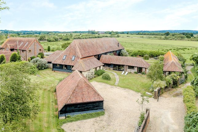 Thumbnail Detached house for sale in Castle Lane, New Barn Road, Amberley, West Sussex