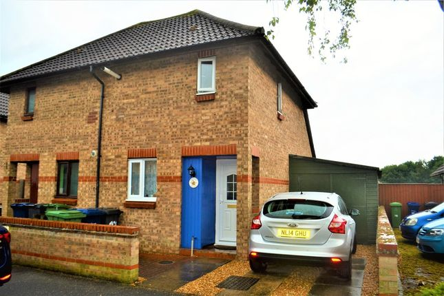 Thumbnail Semi-detached house for sale in Callander Close, Cambridge
