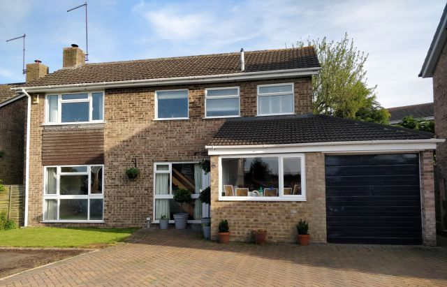 Thumbnail Detached house for sale in Orchard Close, Milton Malsor, Northampton