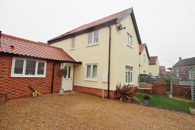 Thumbnail Terraced house to rent in Westgate Court, Wymondham