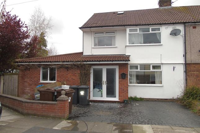 Thumbnail Semi-detached house for sale in Bleasdale Avenue, Aintree, Liverpool