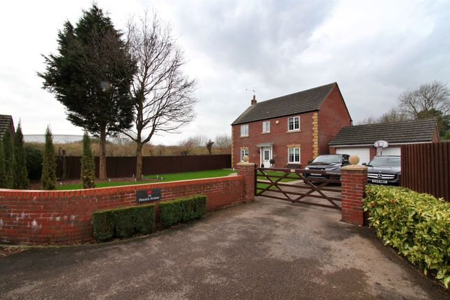 Thumbnail Detached house for sale in Pencarn Avenue, Coedkernew, Newport