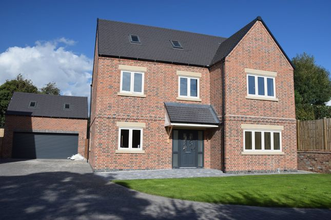 Thumbnail Detached house for sale in Worthington Lane, Newbold Coleorton