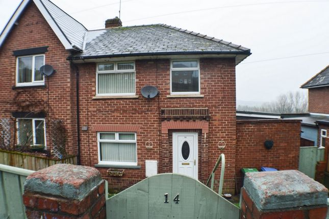 Thumbnail Terraced house to rent in Pleasant View, Consett
