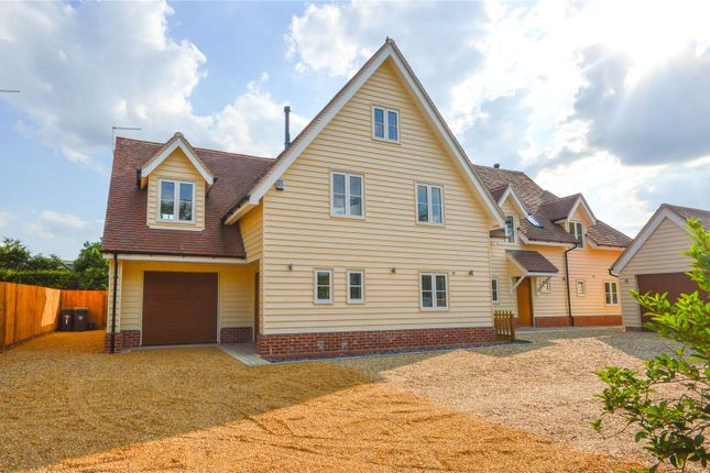 Thumbnail Detached house for sale in Middle Street, Clavering, Nr Saffron Walden, Essex