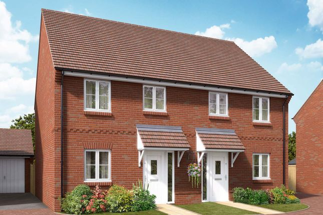 """Thumbnail End terrace house for sale in """"The Walton"""" at Boorley Green, Winchester Road, Botley, Southampton, Botley"""