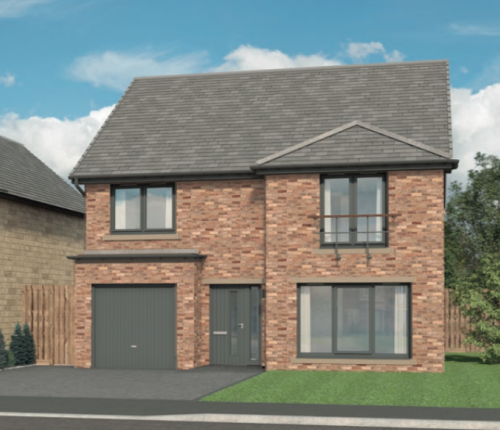 """Thumbnail Detached house for sale in """"The Ivory At Cragside Gardens"""", Lordenshaw Drive, Rothbury, Morpeth"""