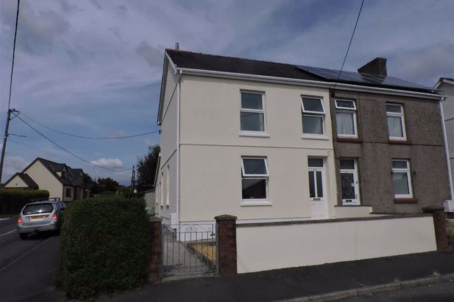 Thumbnail Semi-detached house for sale in Newtown, Ammanford