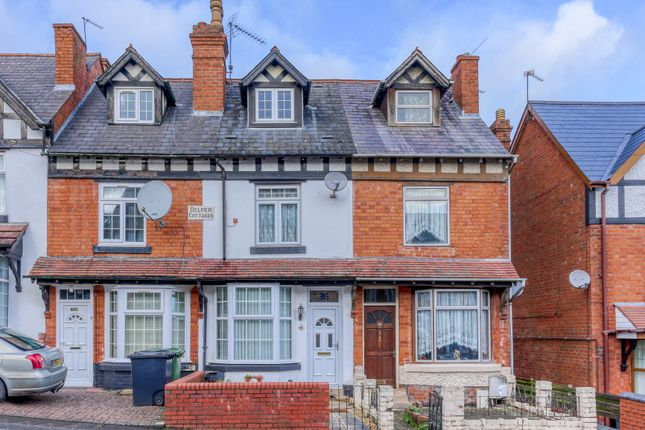 3 bed terraced house for sale in Glover Street, Smallwood, Redditch B98