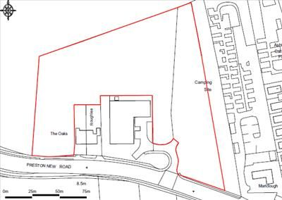 Commercial property for sale in Former Clock Garage, Preston New Road, Westby, Blackpool, (3.89 Acres)