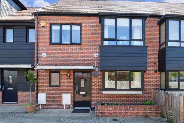 Thumbnail Terraced house for sale in Derby Drive, Leybourne, West Malling, Kent