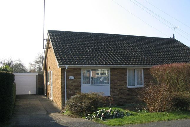 Thumbnail Bungalow to rent in Stockwell Avenue, Wootton, Northampton