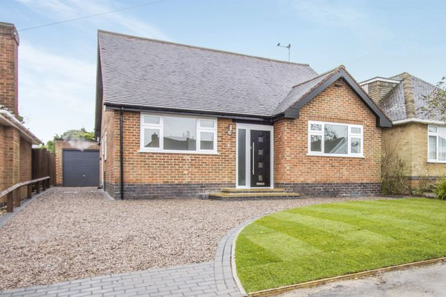 Thumbnail Detached bungalow for sale in The Meadway, Burbage, Hinckley