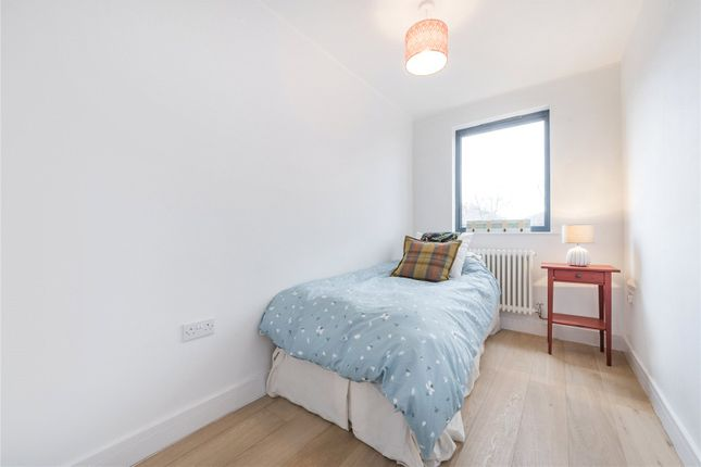 Bedroom of The Poplars, Montpelier Grove, London NW5