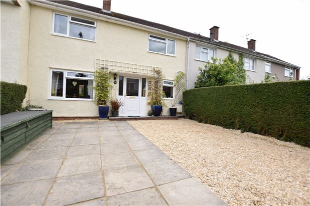 Thumbnail Terraced house for sale in Kenilworth Close, Keynsham, Bristol