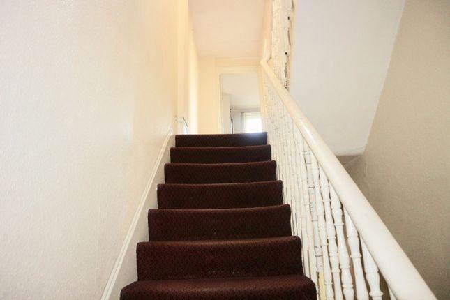 Staircase of Bravington Road, London W9