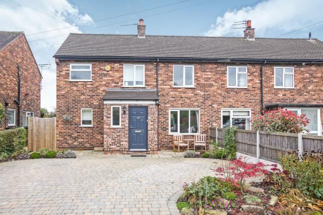 Thumbnail Semi-detached house for sale in Park House Lane, Prestbury, Macclesfield, Cheshire