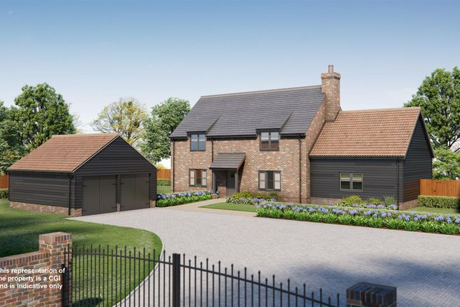 Thumbnail Detached house for sale in Brington, Huntingdon