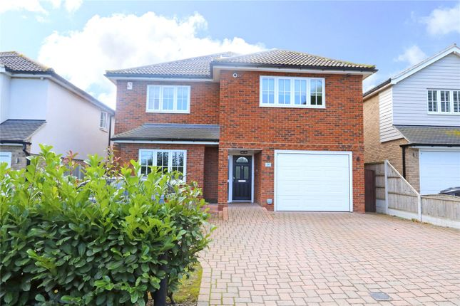 Thumbnail Detached house for sale in The Chase, Thundersley, Essex
