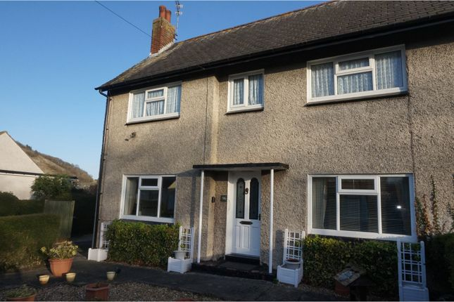 Thumbnail Semi-detached house for sale in Victoria Drive, Llandudno Junction