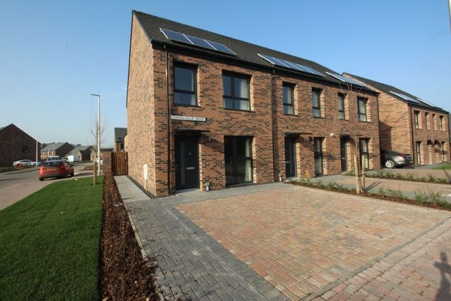 3 bed terraced house to rent in Capercaillie Drive, Perth PH1