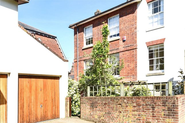 Thumbnail Semi-detached house to rent in St Thomas Mews, St Thomas Street, Winchester, Hampshire