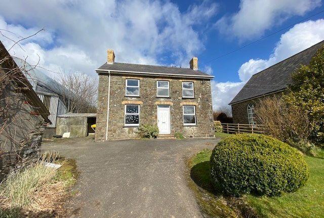 Detached house for sale in Coed Y Bryn, Llandysul