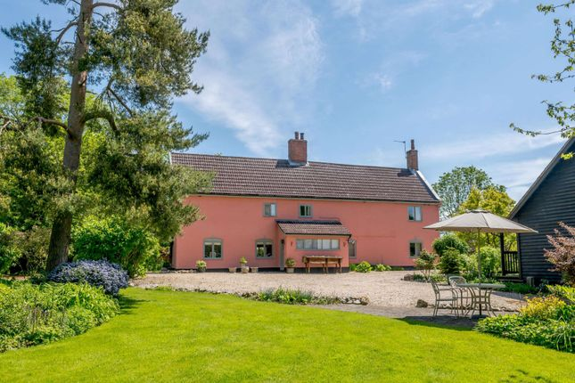 4 bed detached house for sale in Great Green, Thrandeston, Diss IP21