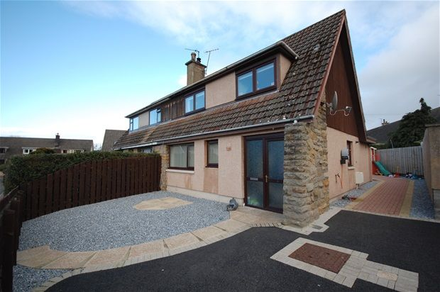 Thumbnail Semi-detached house for sale in Templand Place, Lhanbryde, Elgin