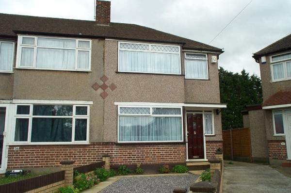 Thumbnail Semi-detached house to rent in Penbury Road, Southall, Middlesex