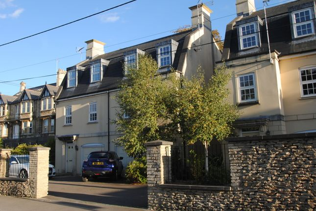 Thumbnail Town house for sale in Stokes Road, Corsham, Wiltshire