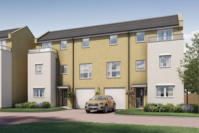 Thumbnail Town house for sale in Mogridge Drive, Littlemore, Oxford