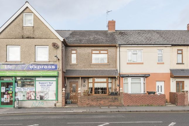 Thumbnail Terraced house for sale in Cromwell Road, Newport