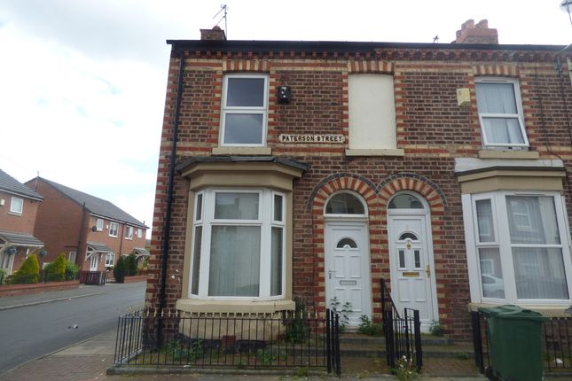 Thumbnail End terrace house for sale in Paterson Street, Birkenhead