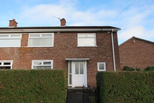 Thumbnail Terraced house to rent in Cloghan Crescent, Belfast