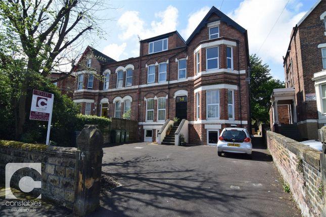 Thumbnail Flat to rent in 14 Wellington Road, Oxton, Prenton, Merseyside