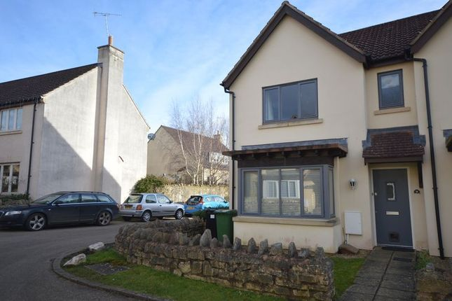 Thumbnail Semi-detached house to rent in Lovell Drive, Bishop Sutton, Bristol