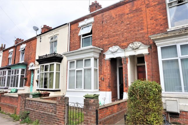 Thumbnail Terraced house for sale in Legsby Avenue, Grimsby