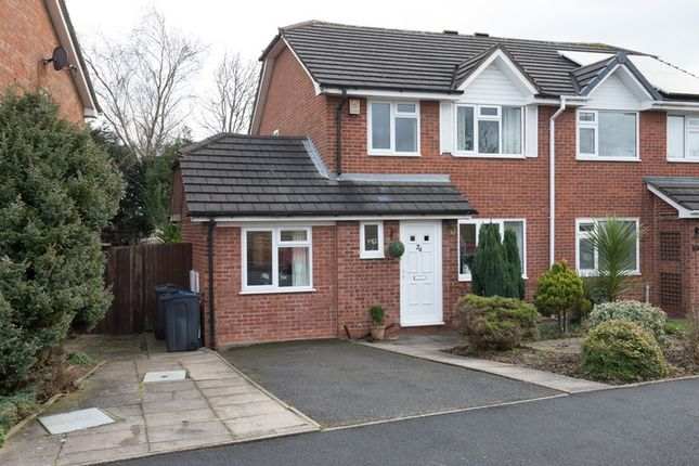 Thumbnail Semi-detached house for sale in York Close, Birmingham, West Midlands
